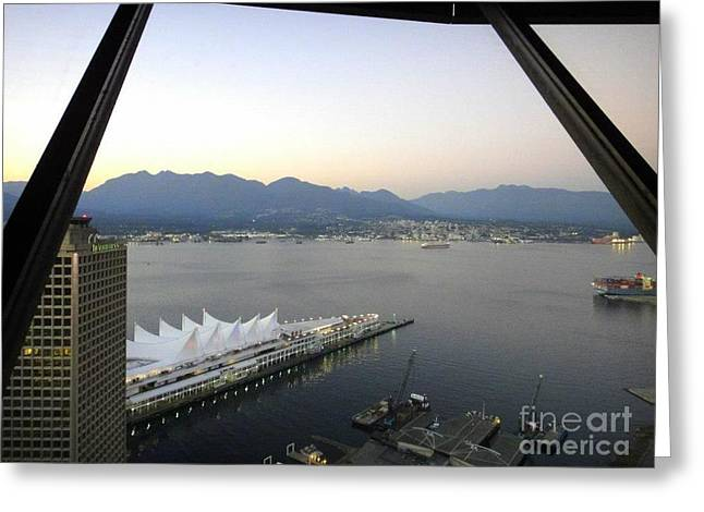 Vancouver Above  Greeting Card by Igor Baranov