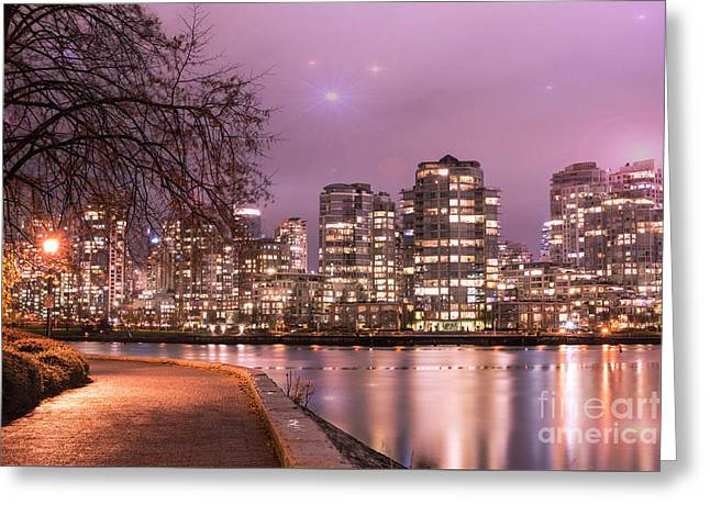 Greeting Card featuring the photograph Vancouver, Canada by Juli Scalzi