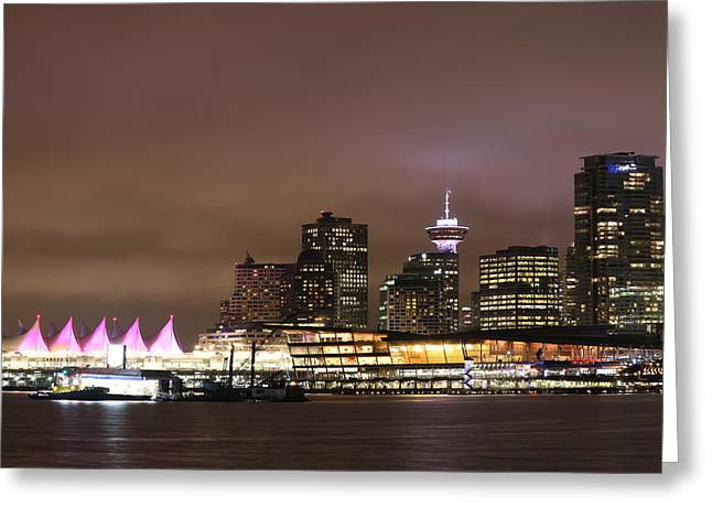 Vancouver Canada Place Greeting Card