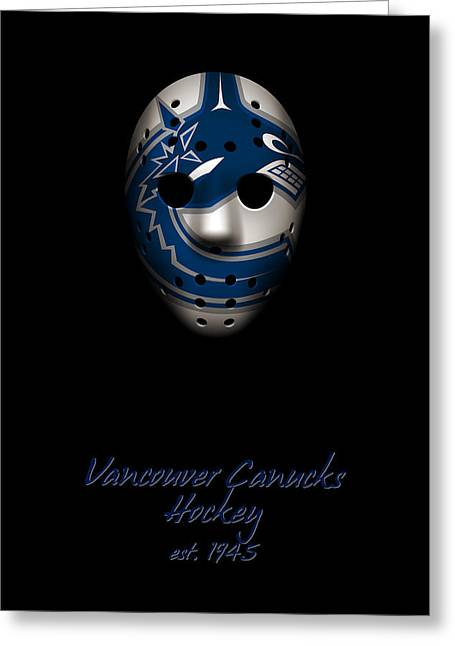 Vancouver Canucks Established Greeting Card by Joe Hamilton