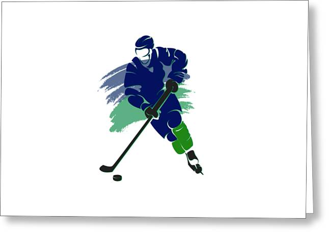 Vancouver Canucks Player Shirt Greeting Card
