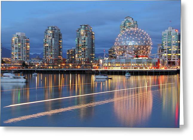 Vancouver Science World Greeting Card