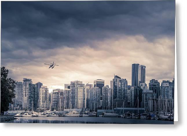 Vancouver Skyline Greeting Card