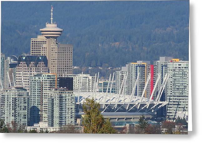 Vancouver Stadium Greeting Card