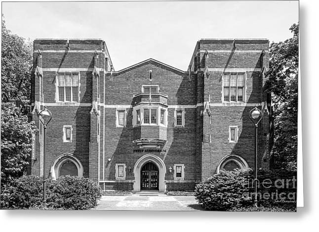 Vanderbilt University Neely Auditorium Greeting Card by University Icons
