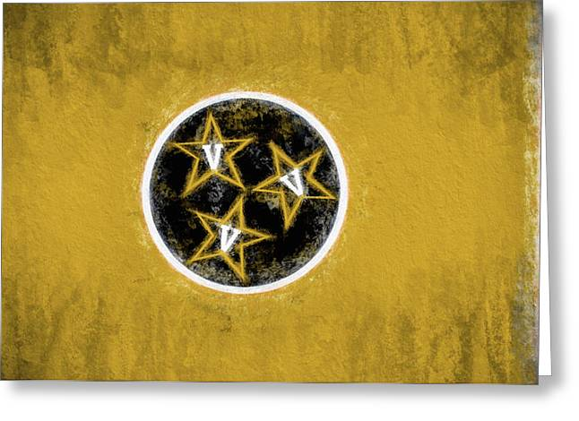 Vandy Tennessee State Flag Greeting Card