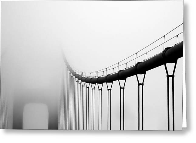 Vanishing Bridge Greeting Card