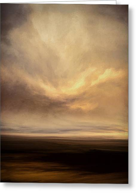 Vanishing Winds Greeting Card by Lonnie Christopher