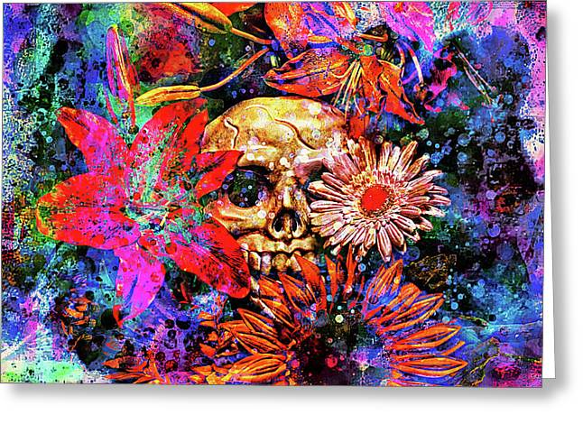 Vanitas Greeting Card by Jeff  Gettis