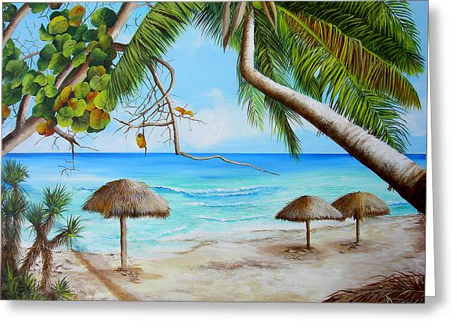 Varadero Greeting Card