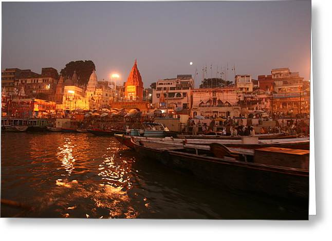 Varanasi Greeting Card