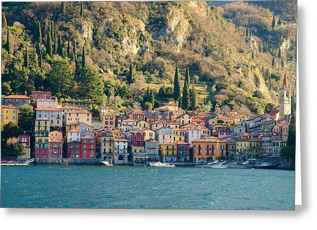 Varenna Village Greeting Card