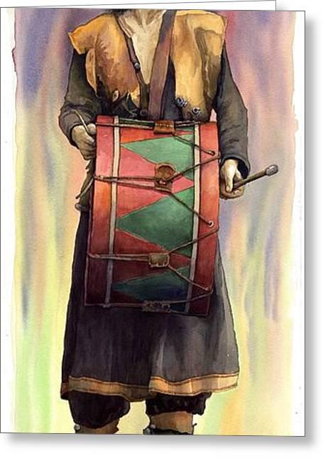 Varius Coloribus  Abul Greeting Card