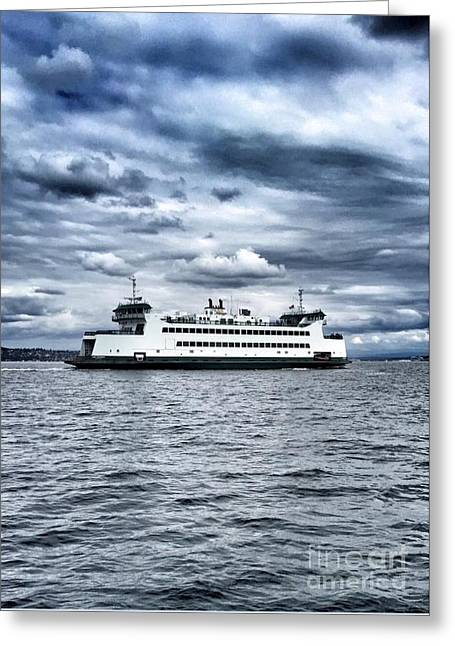 Vashon Island Ferry Greeting Card