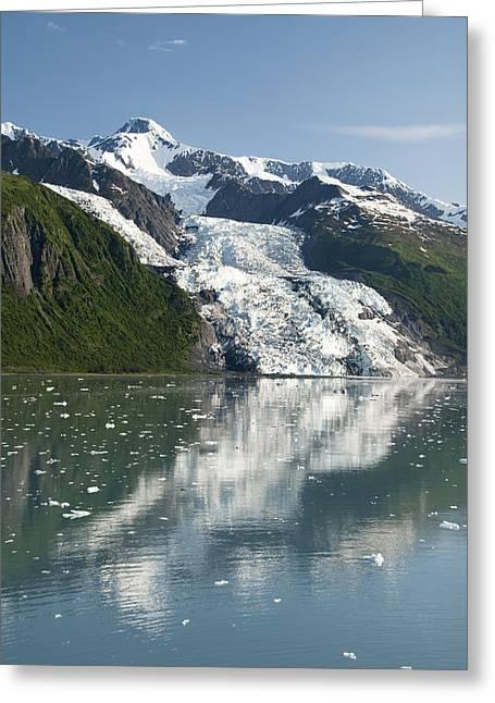 Vasser Glacier Greeting Card