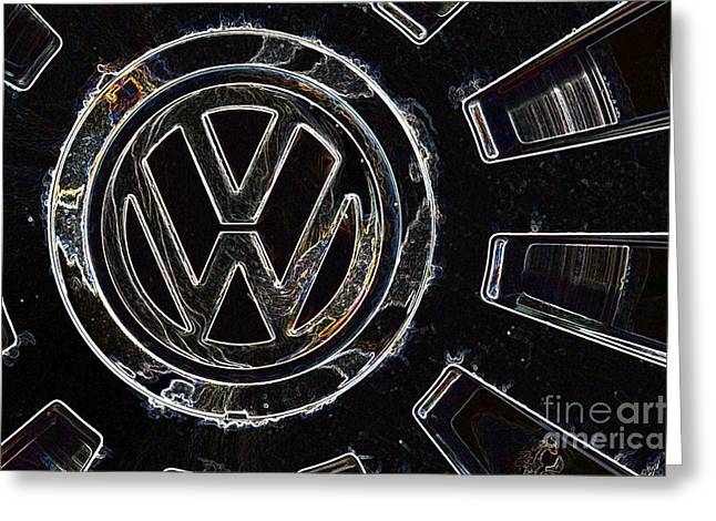 VW3 Greeting Card by Wendy Wilton