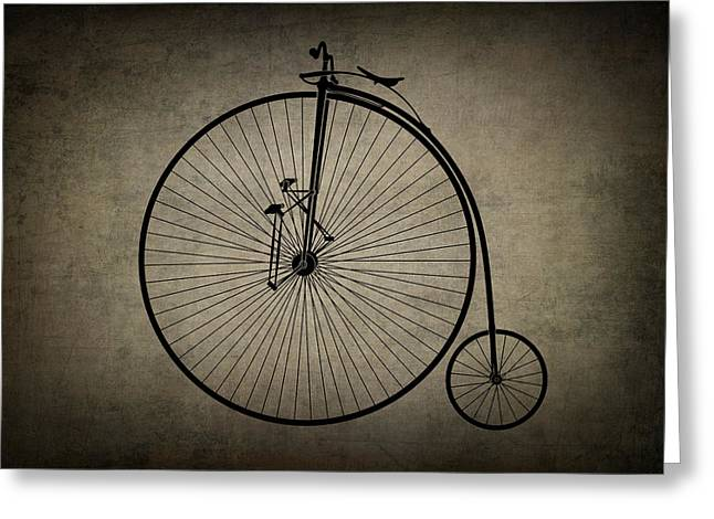 Velocipede Greeting Card by Daniel Hagerman