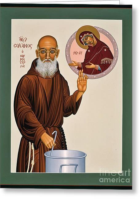Venerable Fr. Solanus Casey The Healer 038 Greeting Card