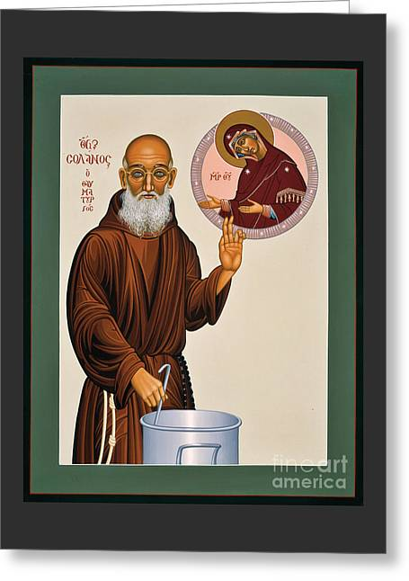 Venerable Fr. Solanus Casey The Healer 038 Greeting Card