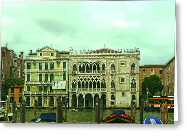 Greeting Card featuring the photograph Venetian Aternoon by Anne Kotan