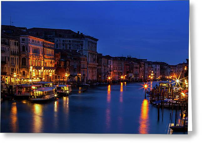 Venetian Blue Greeting Card