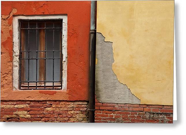 Venetian Colors 1 Greeting Card by Art Ferrier