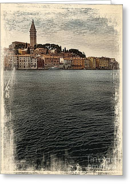 Venetian Old Town Greeting Card by Svetlana Sewell