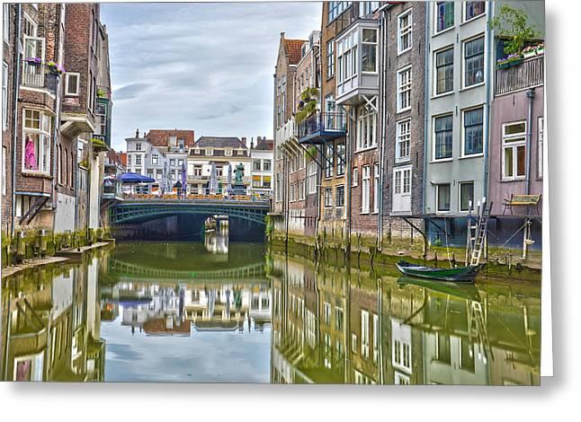 Venetian Vibe In Dordrecht Greeting Card