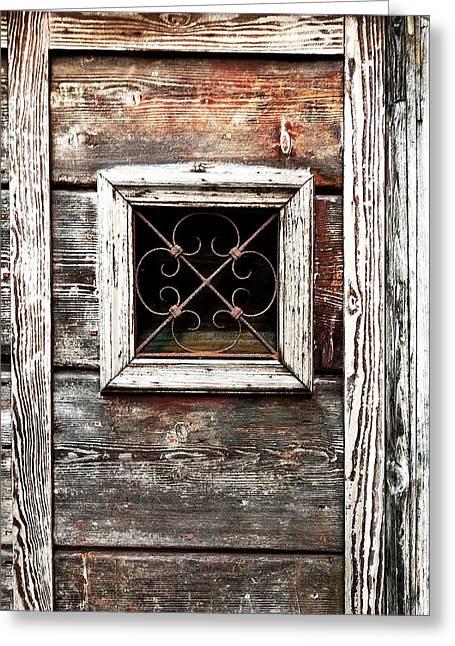 Venetian Window Greeting Card