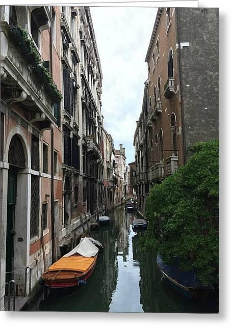 Venezia Beauty Greeting Card