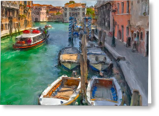 Venezia. Cannaregio Greeting Card