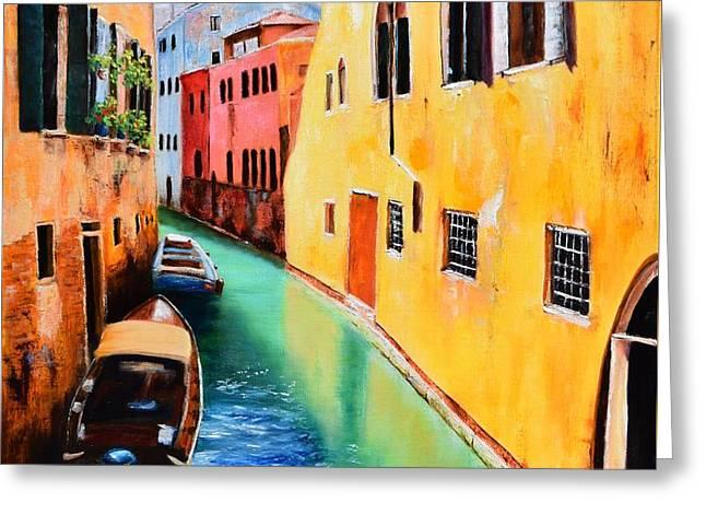 Venice 13 Greeting Card