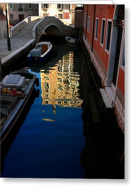 Venice-13 Greeting Card by Valeriy Mavlo