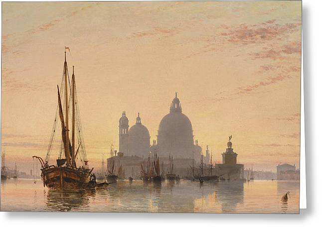 Venice, 1851 Greeting Card