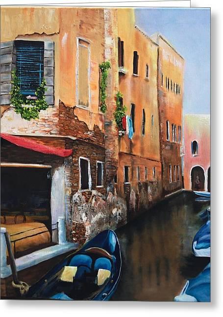 Venice 7 Greeting Card