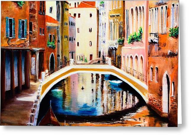 Venice 9 Greeting Card