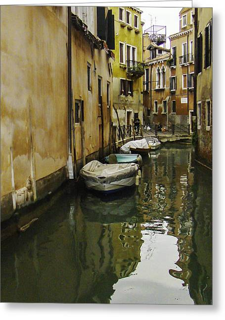 Venice Backroad Greeting Card