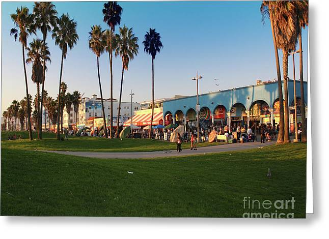 Venice Beach Greeting Card