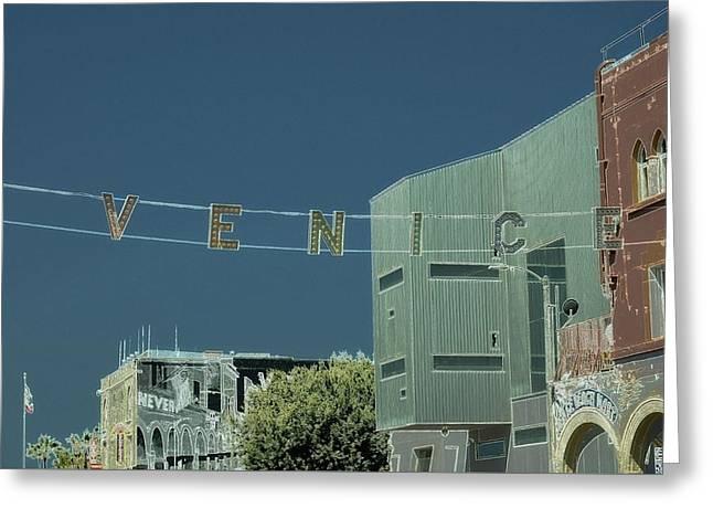 Venice Beach Magic 4 Greeting Card by Fraida Gutovich