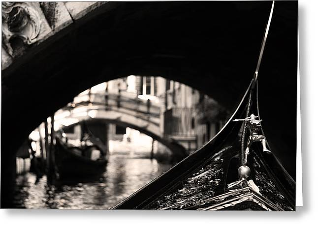 Venice Canal 2 Greeting Card