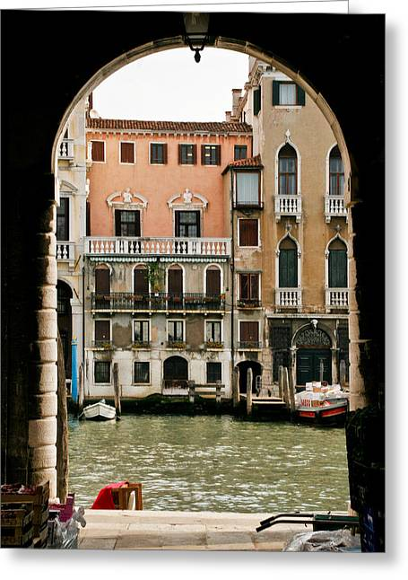 Venice  Greeting Card by Carl Jackson