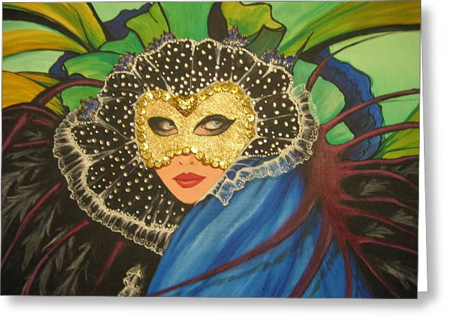 Venice Carnival 1 Greeting Card