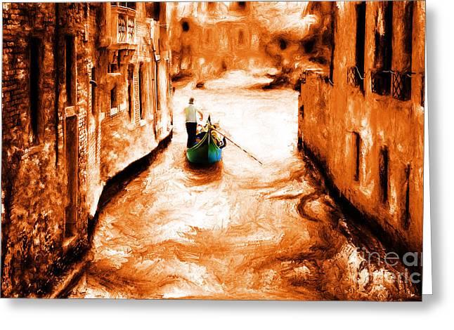Venice City Greeting Card