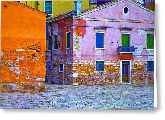 Venice Dorsoduro Greeting Card by Jean-luc Bohin