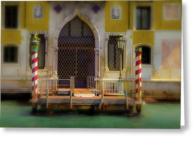 Venice Entrance Greeting Card