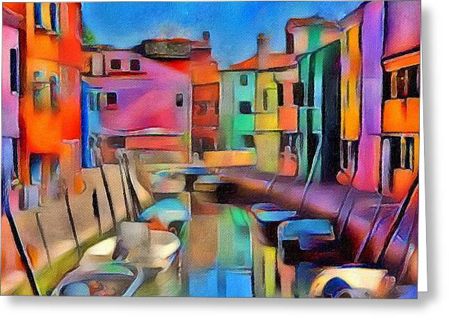 Venice Grand 01 Greeting Card by Yury Malkov