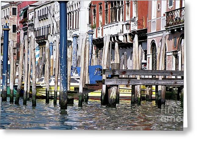 Greeting Card featuring the photograph Venice Grand Canal by Allen Beatty