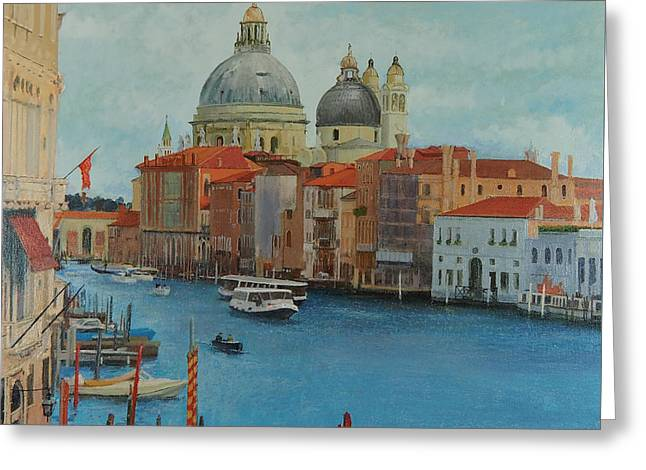 Venice Grand Canal I Greeting Card