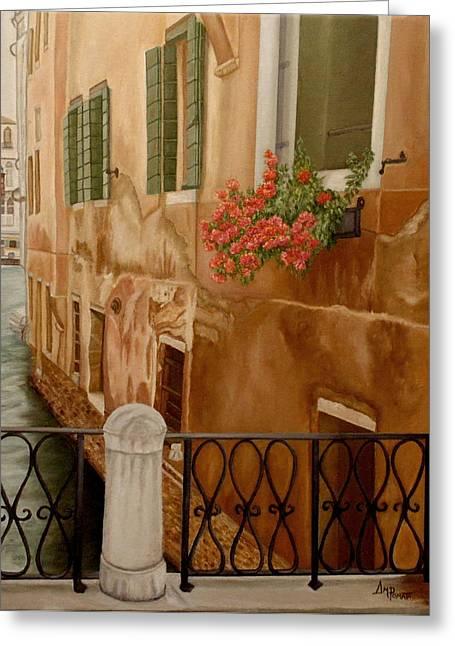 Venice In June Greeting Card