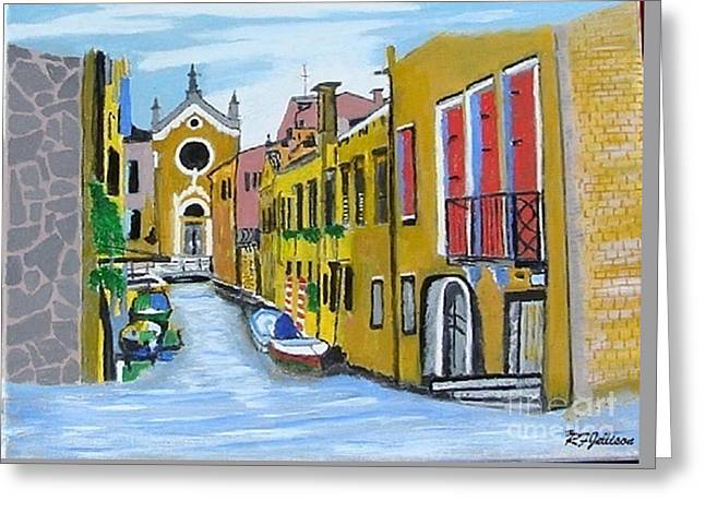 Venice In September Greeting Card